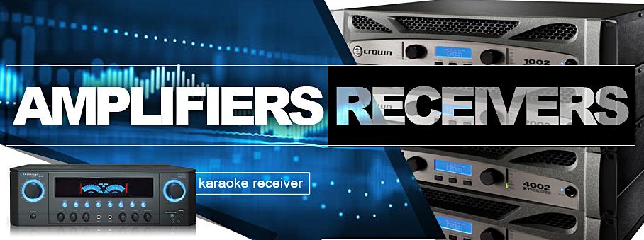 DJ Amplifiers | American Audio | Behringer | Crown | Peavey