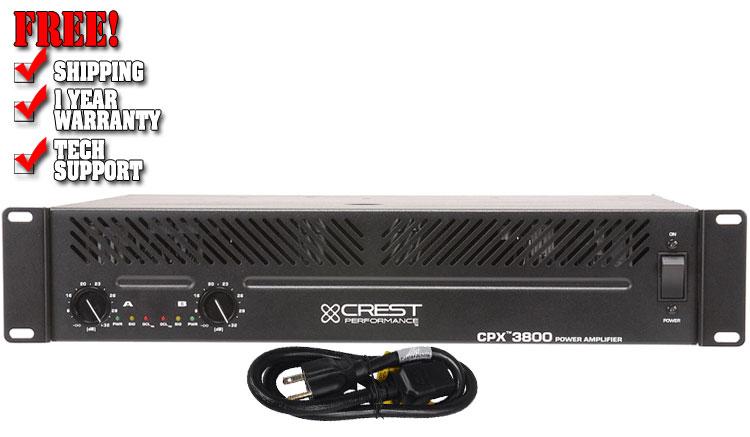Crest-Audio CPX3800