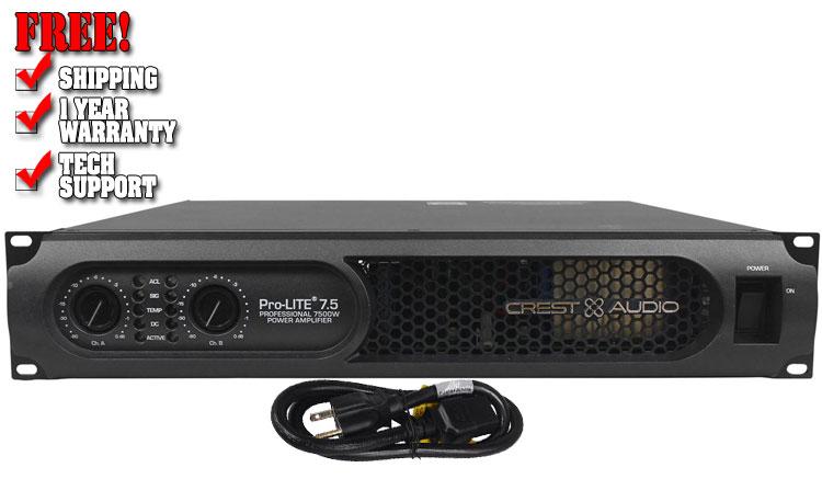 Crest-Audio Pro-LITE 7.5