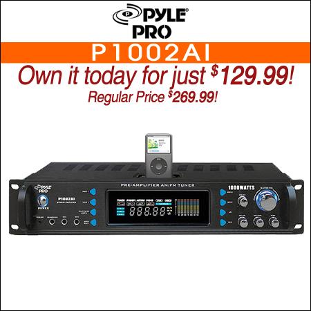 Pyle Pro P1002AI