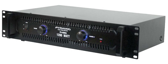 Pyramid PB481X 6Watt Channel Bridgeable Mosfet Amplifier