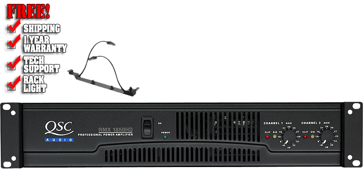 Power Amp QSC RMX 1850