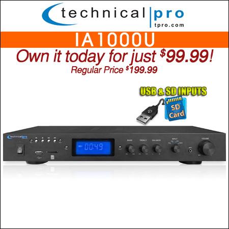 Technical Pro IA1000U