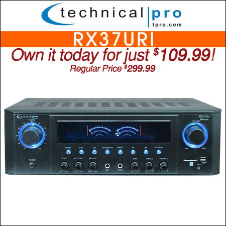 Technical Pro RX37URI