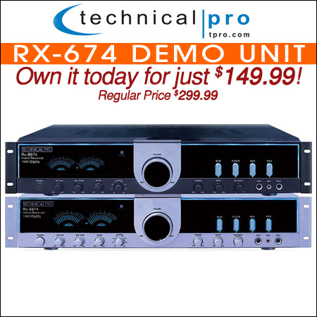 Technical Pro RX-674