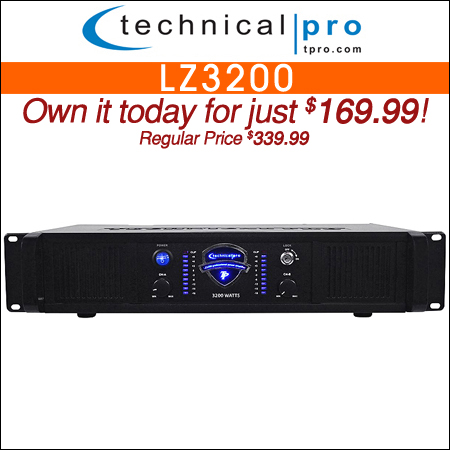Technical Pro LZ3200