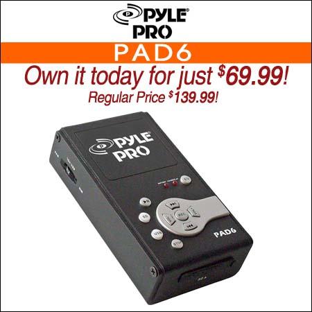 Pyle Pro PAD6
