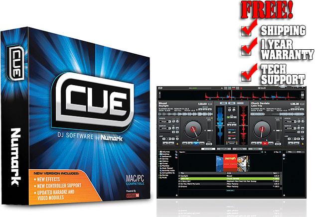 Numark CUE Software