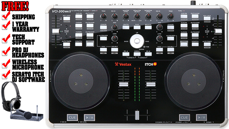 Vestax vci-400 manuals.