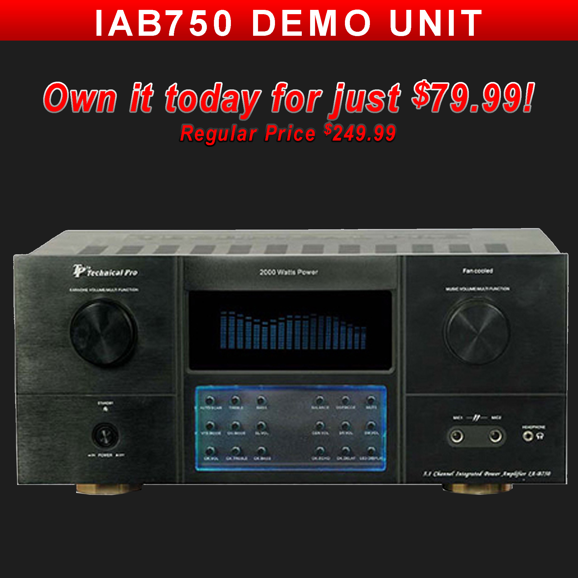 Technical Pro IAB75 Demo Unit
