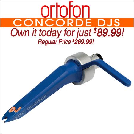 Ortofon Concorde DJS