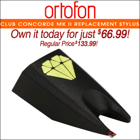 Ortofon Club Concorde Mk II Replacement Stylus