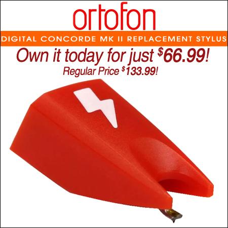 Ortofon Digital Concorde Mk II Replacement Stylus