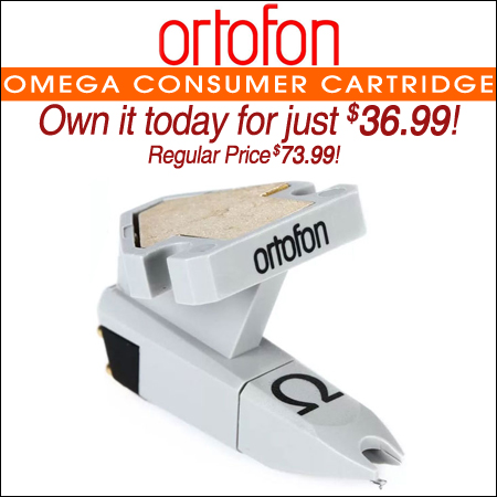 Ortofon Omega Consumer Cartridge