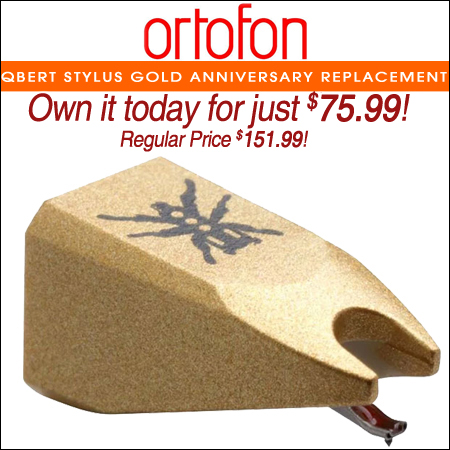 Ortofon Qbert Stylus Gold Anniversary Replacement