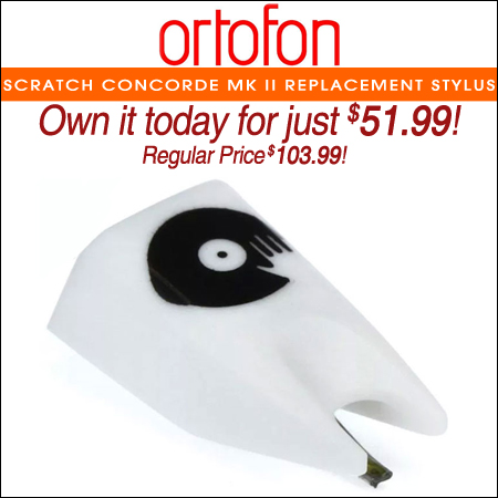 Ortofon Scratch Concorde Mk II Replacement Stylus