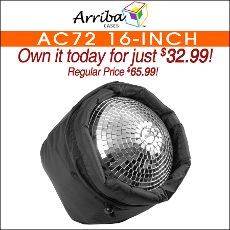 Arriba AC72 16-Inch Mirror Ball Bag