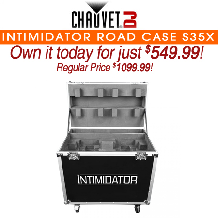 Chauvet Intimidator Road Case S35X