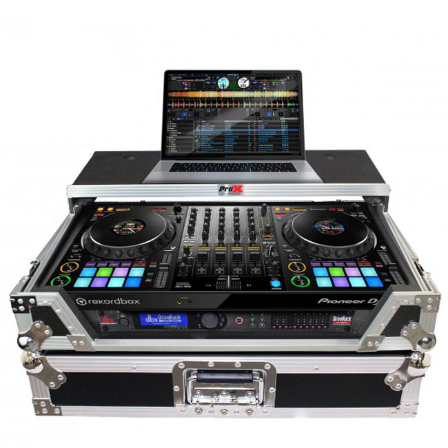 Flight Case W/Laptop Shelf for Pioneer DDJ-1000