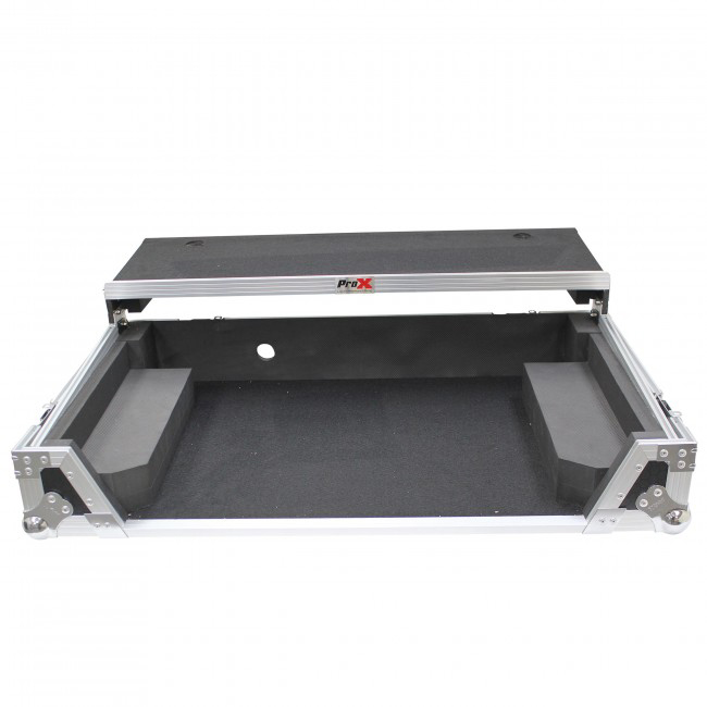 PROX Flight Case W/Laptop Shelf for Pioneer DDJ-1000