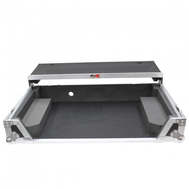 PROX Flight Case W/Laptop Shelf for Pioneer DDJ-1000