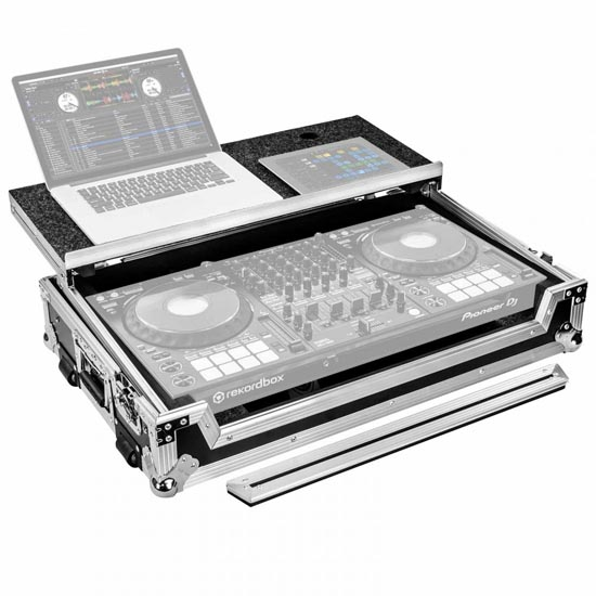 Pioneer DDJ1000SRT and Pioneer DM-40 Black with Odyssey FZGSDDJ1000W Package