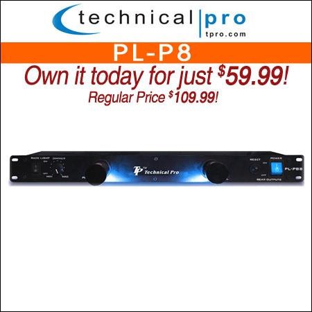 Technical Pro PL-P8