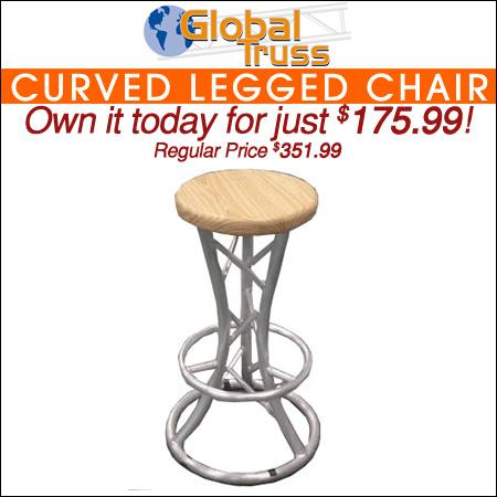 Global Truss Curved Legged Chair