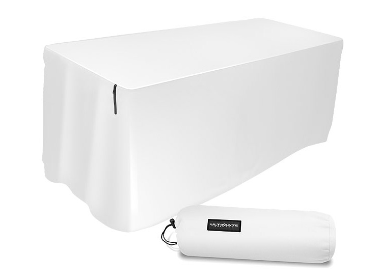 Ultimate Support 4 Ft. White Table Cover