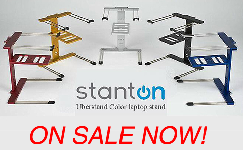 Stanton Colored Uberstand Black