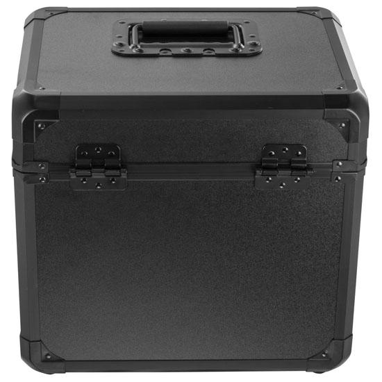 "Odyssey KLP70BL Black KROM Record/Utility Case for 70 12"" Vinyl Records & LPs"