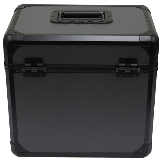 "Odyssey KLP70BLG Black KROM on Gray Record/Utility Case for 70 12"" Vinyl Records"