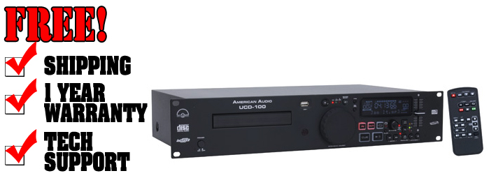 American Audio UCD-100