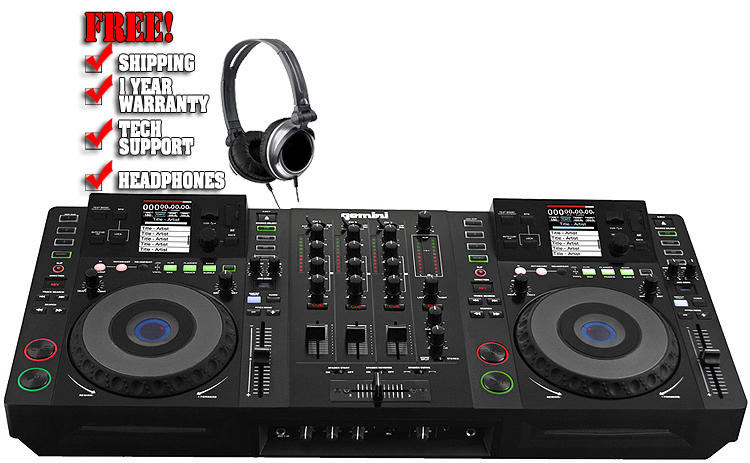 Máy DJ Gemini CDMP-7000 Professional Media Workstation