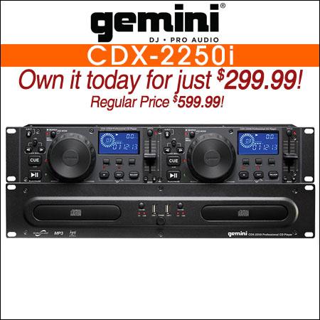 DJ CD Players   American Audio   Gemini   Gem Sound   123DJ