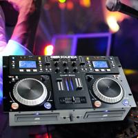 Gemsound CMP500 Dual CD and Mixer Combo