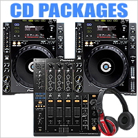 DJ CD Packages