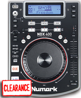 Numark NDX400 Tabletop CD Player Warehouse Resealed