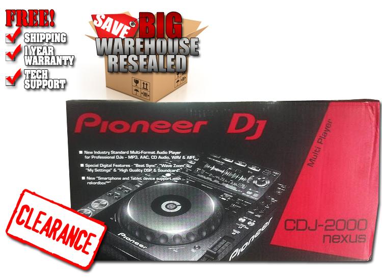 Pioneer CDJ2000nexus Warehouse Resealed Digital DJ CD Player