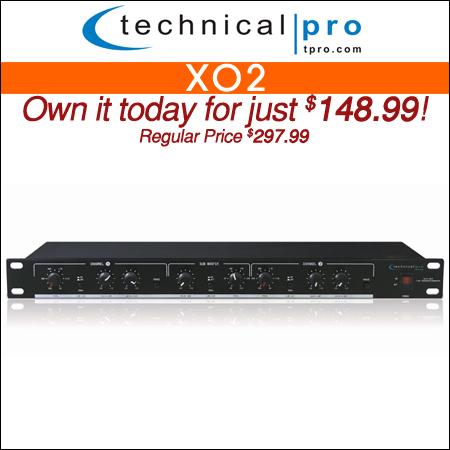 Technical Pro XO2 2 Way Crossover