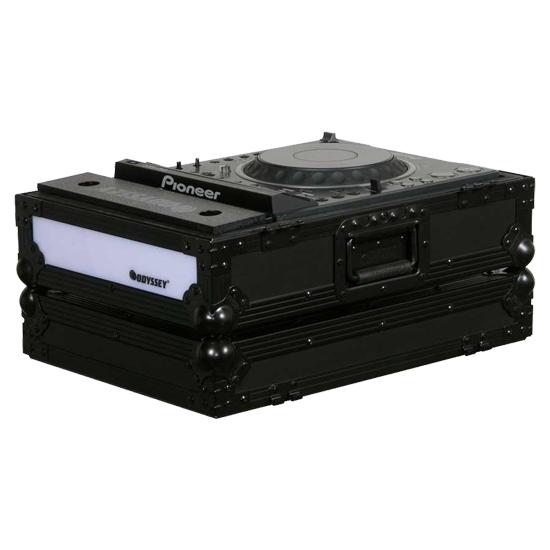 Denon DJ SC6000 Prime Player + Odyssey FFXCDJBL Case Bundle Prime