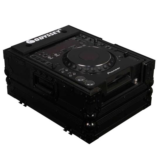 Denon DJ SC6000 PRIME Player + Odyssey FZCDJBL Case Bundle Prime