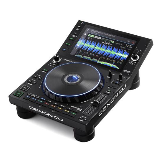 Denon DJ SC6000 Prime Player + Decksaver DS-PC-SC6000 Cover Bundle Prime
