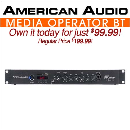 American Audio Media Operator BT