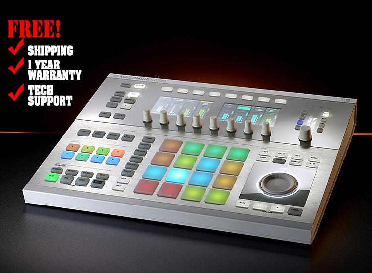 Native Instruments Maschine Studio White   DJ Controllers