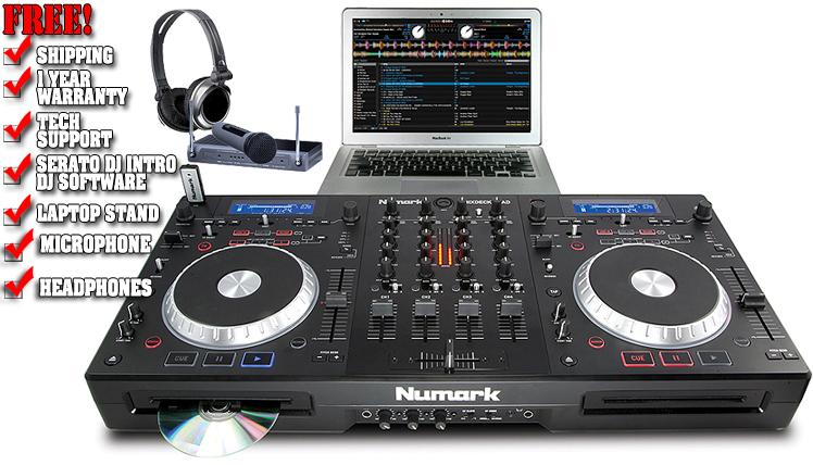 Máy DJ Numark Mixdeck Quad 4-Channel Universal DJ System