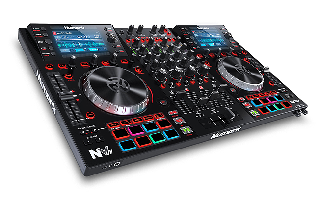 Numark NV2 and Pioneer DM-40 Black with ProX XS-NVLT Package
