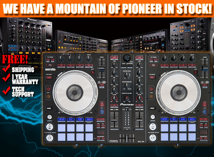 DDJ-SR Digital DJ Controller