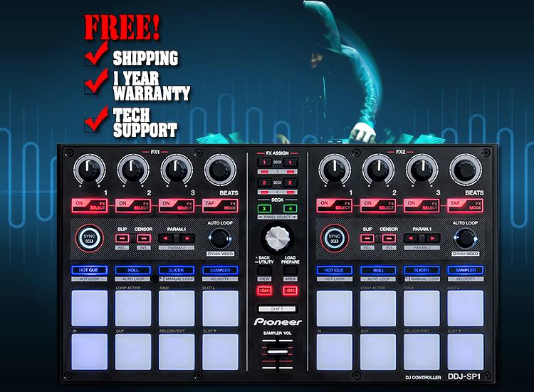 DDJ-SP1 Digital DJ Controller