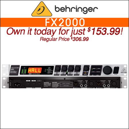 Behringer FX2000